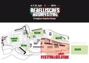 Festivalplan