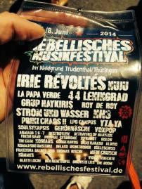 Rebellisches Musikfestival 2014